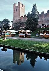 Castelfranco  Veneto (MarioLaser) Tags: castello veneto giorgione mura castle