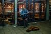 Sing a song of sixpence.... (Dafydd Penguin) Tags: busker street entertainer guitar player sing song singing after dark high iso night shots scene raw bristol harbourside harbor city urban centre watershed nikon df nikkor 35mm af f2d
