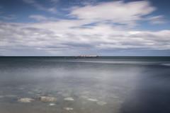 Estrecho de Magallanes (camilomuñoz1) Tags: nikon nikond3100 trípode largaexposición patagonia paisaje puntaarenaschile nubes magallanes mar nikonistas filtrond verano vanguard viento landscape