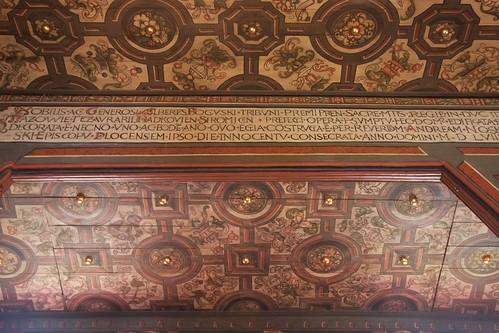Napis fundacyjny kościoła w Boguszycach