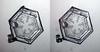 Snowflake on stilts (peterobrien186) Tags: 3d stereo snow snowflake ice crystal nature macro column plate stilts