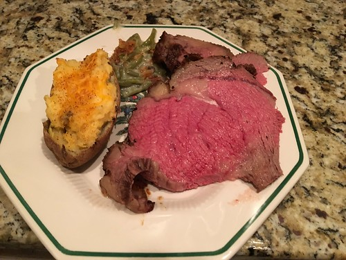 Christmas 2015 Prime Rib Dinner by Wesley Fryer, on Flickr