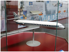 SUD-AVIATION SE 210 CARAVELLE (Aerofossile2012) Tags: caravelle avion aircraft aviation musée museum blagnac aéroscopia toulouse 2015 airliner maquette model airfrance