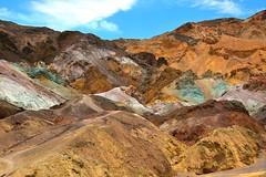Artist's Palette, Death Valley National Park, CA (Maria Kotsonia) Tags: deathvalleynationalpark california national parks nationalparks artistspalette drive desert artistsdrive roadtrip colours ngc nikon d3300 nikor