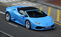 Lamborghini, Huracan LP 610-4 Spyder, Wan Chai, Hong Kong (Daryl Chapman Photography) Tags: ud6835 huracan italian wanchai pan panning 1d mkiv car cars auto autos automobile canon eos is ii 70200l f28 road engine power nice wheels rims hongkong china sar drive drivers driving fast grip photoshop cs6 windows darylchapman automotive photography hk hkg bhp horsepower brakes gas fuel petrol topgear headlights worldcars daryl chapman darylchapmanphotography lp 6104 lp6104