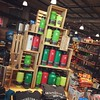 A Tree of Thermoses (Karol A Olson) Tags: rei flagship store shopping thermos jug christmastreeshape dec16 107jugs 116picturesin2016