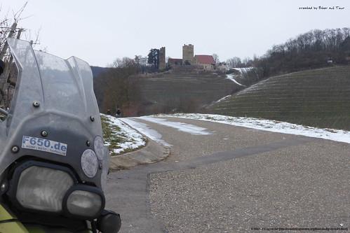 Sichtweite zu kalter Burg