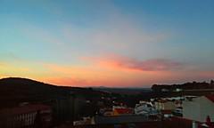 Tones (Frantastic.) Tags: sky skies cloud clouds outdoor outdoors hills hill colina cáceres extremadura spain españa tones tonos violeta violet houses sunset sol sun casa landscape paisaje
