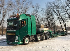 Volvo FH540 8x4 with Goldhofer trailer (pepictures) Tags: sondertransport heavyhaulage goldhofer 540 volvo
