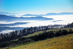 Paesaggio invernale (MaOrI1563) Tags: montemorello nebbia sole panorama inverno invernale firenze florence toscana tuscany italia italy maori1563