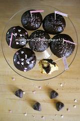 MuffinSanValentino_004w (Morgana209) Tags: love sanvalentino amore muffin cioccolato nutella yogurt facili veloci innamorati cuore tag flag handmade cucinareconamore heart 14febbraio fattoamano donospeciale
