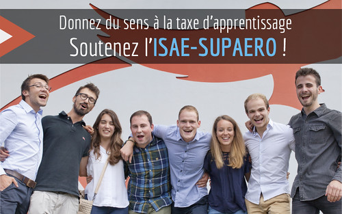 Visuel taxe apprentissage ISAE