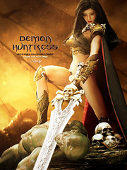 PHICEN PL2016-100 Demon Huntress - Sluping 01 (Lord Dragon 龍王爺) Tags: 16scale 12inscale onesixthscale actionfigure doll hot toys phicen seamless female