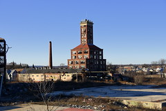 shot tower (bobsnikond200) Tags: building tower structure architecture chimney collapse abandoned foundation windows broken smoke stack factory sky outdoors ruble