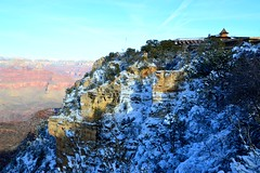 Grand Canyon 45 (Krasivaya Liza) Tags: grandcanyon grand canyon national park canyons nature natural wonder az arizona holiday christmas 2016 snowy winter cliffs cliffside edgeofcliff