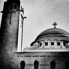 En Terre Musulmane (Ansanshi) Tags: dakar senegal urban architecture catholiques cathédrale ansanshi