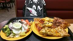 Pizza and Salad (Morton Fox) Tags: easton pa cicis food pizza buffet