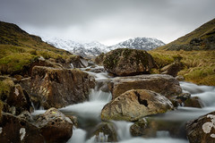 Styhead Gill (Explored) (Joe Hayhurst) Tags: cumbria england greatgable lakedistrct landscape mountain mountains scafellpike styheadgill water