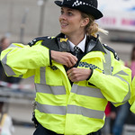 "British policewoman with wearable camera<a href=""http://www.flickr.com/photos/28211982@N07/33239185182/"" target=""_blank"">View on Flickr</a>"