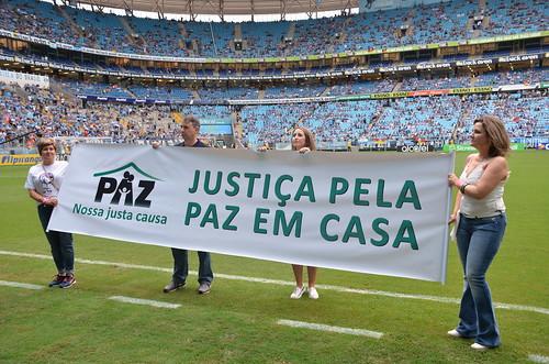 Semana da Justiça pela Paz em Casa