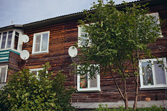 Дом (engine9.ru) Tags: дом небо дерево мезень mezen tree window