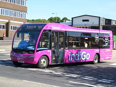 Go North East 663 (NK15GFU) - 12-08-15 (peter_b2008) Tags: buses transport indigo coaches 663 gonortheast peterlee optare buspictures gonorthern goaheadgroup solosr nk15gfu