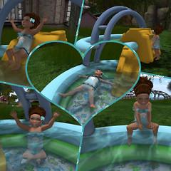 Dino Pool (cady.amelia) Tags: swimmingpool swimsuit truthhair tinytrinkets cutebytes sprinklywinks tbtinybuttons