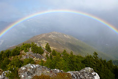 Rainbow from Mt Kuripapango, Hawkes Bay, NZ. (Grumpy Eye) Tags: rainbow mt panasonic select kuripapango dmcft3