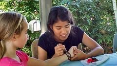 At the Greenbelt Labor Day Festival, September 7, 2015 (kimsworldofart) Tags: painting maryland greenbelt mehndi greenbeltlabordayfestival