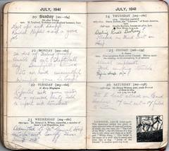 Week 30 July 20th -26th 1941 (richardmlevett) Tags: hurricane jerry malta b17 naples sicily blenheim convoy beaufort 1941 raf wimpy iti sliema valletta valetta airraid whitley luqa hmsnaiad wardiary takali siegeofmalta