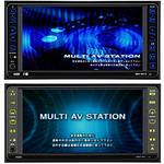 車載用HDD内蔵 AV&ナビゲーションシステムの写真