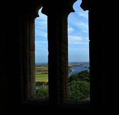 View over the River coquet from Warkworth Castle. (Eddie Crutchley) Tags: england castle window river ruins europe view northumberland warkworthcastle warkworth historicbuilding rivercoquet