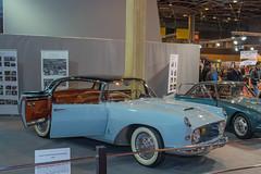 1955 Lancia Florida Pinin Farina berlina  (Chassis n 1006S - 1/4 seul en conduite  gauche) - collection Lopresto (el.guy08_11) Tags: paris france 1955 ledefrance voiture collection lancia pininfarina