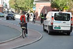 Sykkelfelt Kjpmannsgt. 0125 (Miljpakken) Tags: trondheim rdt sykling bymilj gatemilj miljpakken syklister bygate bytransport bytrafikk miljopakken sykkelveg sykkelanlegg bysykling