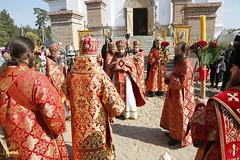 071. Patron Saints Day at the Cathedral of Svyatogorsk / Престольный праздник в соборе Святогорска