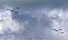 FLY BY (mark_rutley) Tags: aircraft aviation hurricane worldwarii isleofwight solent spitfire worldwar2 worldwartwo battleofbritain battleofbritain75thanniversary