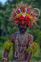 Sing-sing Dancer, Komoa Village, Papua New Guinea (bfryxell) Tags: dancer papuanewguinea singsing oceania melanesia tufifjord komoavillage