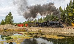 Morning mixed (kdmadore) Tags: railroad oregon train steam sumpter steamlocomotive mcewen sumptervalleyrailway svrr svry sumptervalleyrailroad