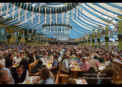 World's greatest party at Oktoberfest in Munich, Germany (jitenshaman) Tags: travel party beer festival germany munich münchen bavaria mas europe crowd drinking partying social oktoberfest alcohol mug destination munchen heavy brew celebrate stein crowded bavarian dirndl hofbräu worldlocations massweight