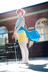 Pearl & Rose (Steven Universe) (skwinky) Tags: usa anime rose cosplay pearl steven universe quartz ausa