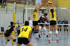 GO4G3800_R.Varadi_R.Varadi (Robi33) Tags: game girl sport ball switzerland championship team women action basel tournament match network volleyball block volley referees viewers