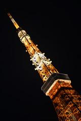 DSC_0510 (Zengame) Tags: tower japan architecture night tokyo nikon df illumination landmark illuminated jp  tokyotower  nikkor      afs58mmf14g afsnikkor58mmf14g