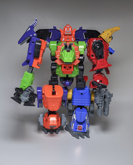 Dino King! (skipthefrogman) Tags: china city japan modern vintage toy japanese robot dino dinosaur transformer action slag review chinese off ko figure era g1 g2 import sludge bootleg swoop knock snarl scramble dinobot grimlock combiner
