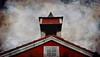Hus med tårn -|- House with tower (erlingsi) Tags: red house building rot tower norway architecture rouge top hus volda tårn noreg rødt spir prestegardenhus