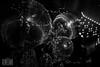 Discokugeln (genelabo) Tags: tonhalle ssm crushedeyes media pmi planet christmas space stars weihnachtsfeier indoor party videobeamer millumen münchen sw bw schwarz weis blackandwhite monocrome disco kugel mirror ball dark