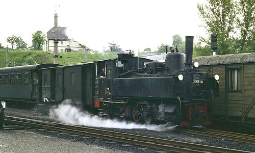 ÖBB steam loco 298.56 Garsten