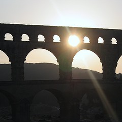 Pont du Gard, France (pom.angers) Tags: canondigitalixus500 2007 february pontdugard verspontdugard gard gardon 30 occitanie france europeanunion pontaqueduc ancientrome 100