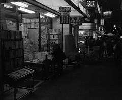 Tokyo (* Daniel *) Tags: mamiya mamiya7ii markdaniel markdanielphotocom mono monochrome film filmgrain ilford ilfordid11 id11 delta3200 delta ilforddelta3200 ilforddelta3200pro night street streetphotography streetphoto grain tokyo japan bw blackwhite blackandwhite pushprocess