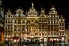 Grand Place Bruselas. Casas 20 a 28 (cjam_1974) Tags: grandplace belgica2015 bruselas brussel bruxelles nocturnas