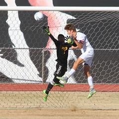 Gilbert Almost scored on this Attempt - 8920 (AZDew) Tags: 20162017gilbertboyssoccer boyssoccer gilberttigers highschool mesahighschool soccer statequarterfinals